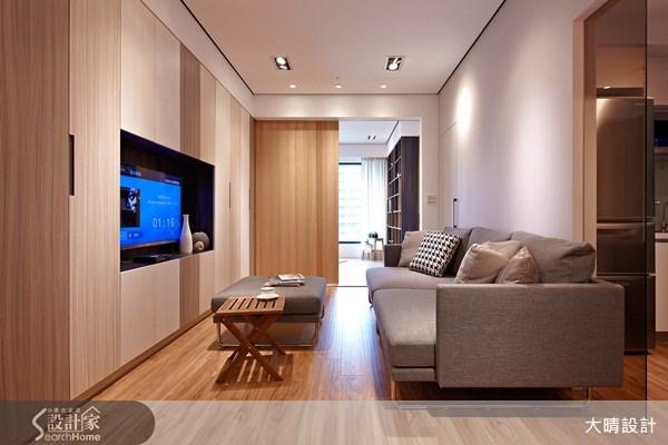 18坪新成屋(5年以下)_休閒風客廳案例圖片_大晴設計有限公司_大晴_09之1