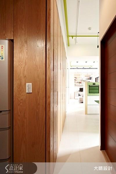 25坪新成屋(5年以下)_工業風走廊案例圖片_大晴設計有限公司_大晴_10之18