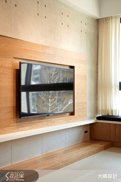 25坪新成屋(5年以下)_混搭風客廳案例圖片_大晴設計有限公司_大晴_11之4
