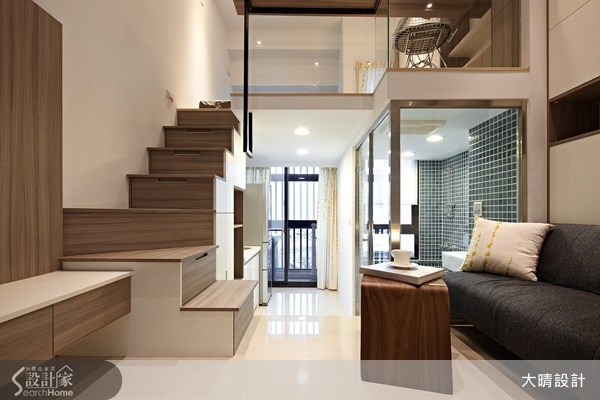 25坪新成屋(5年以下)_現代風客廳案例圖片_大晴設計有限公司_大晴_12之2