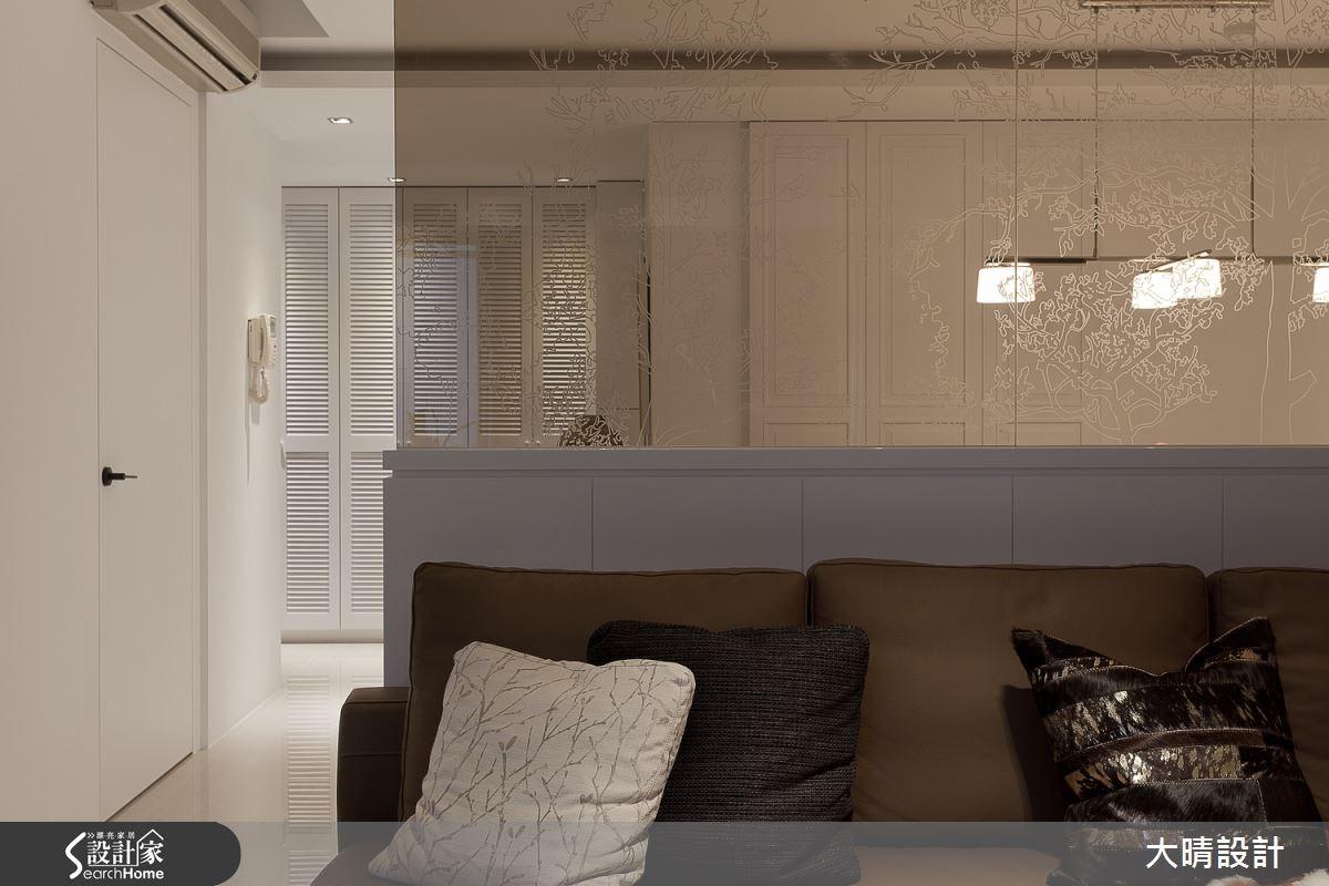 32坪老屋(16~30年)_新古典客廳案例圖片_大晴設計有限公司_大晴_18之2