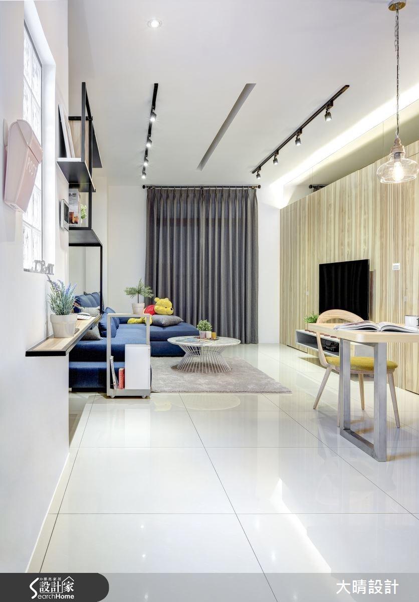 25坪新成屋(5年以下)_現代風客廳案例圖片_大晴設計有限公司_大晴_24之2
