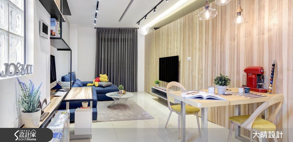 25坪新成屋(5年以下)_現代風客廳案例圖片_大晴設計有限公司_大晴_24之4