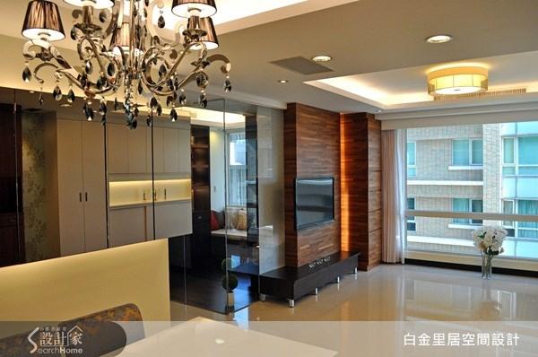 30坪新成屋(5年以下)_現代風案例圖片_白金里居空間設計_白金里居_03之1