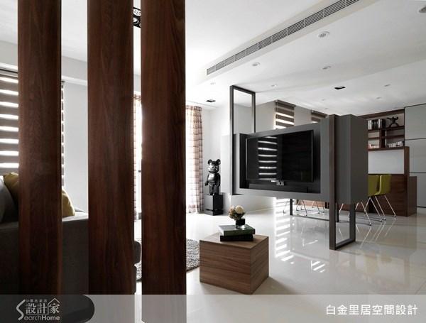 24坪新成屋(5年以下)_現代風案例圖片_白金里居空間設計_白金里居_09之2