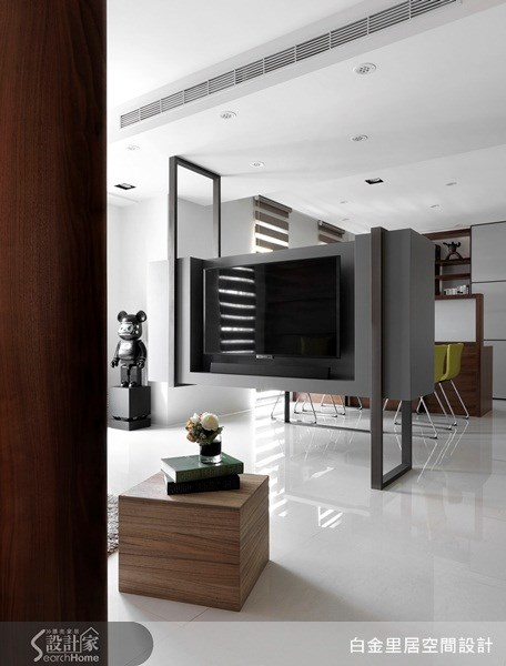24坪新成屋(5年以下)_現代風案例圖片_白金里居空間設計_白金里居_09之3