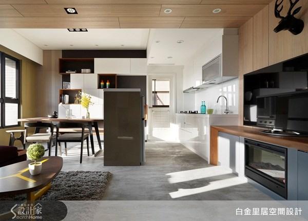 15坪新成屋(5年以下)_現代風案例圖片_白金里居空間設計_白金里居_10之2