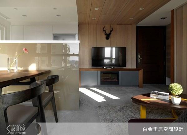 15坪新成屋(5年以下)_現代風案例圖片_白金里居空間設計_白金里居_10之1