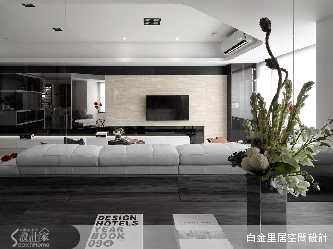 33坪老屋(16~30年)_現代風案例圖片_白金里居空間設計_白金里居_12之2