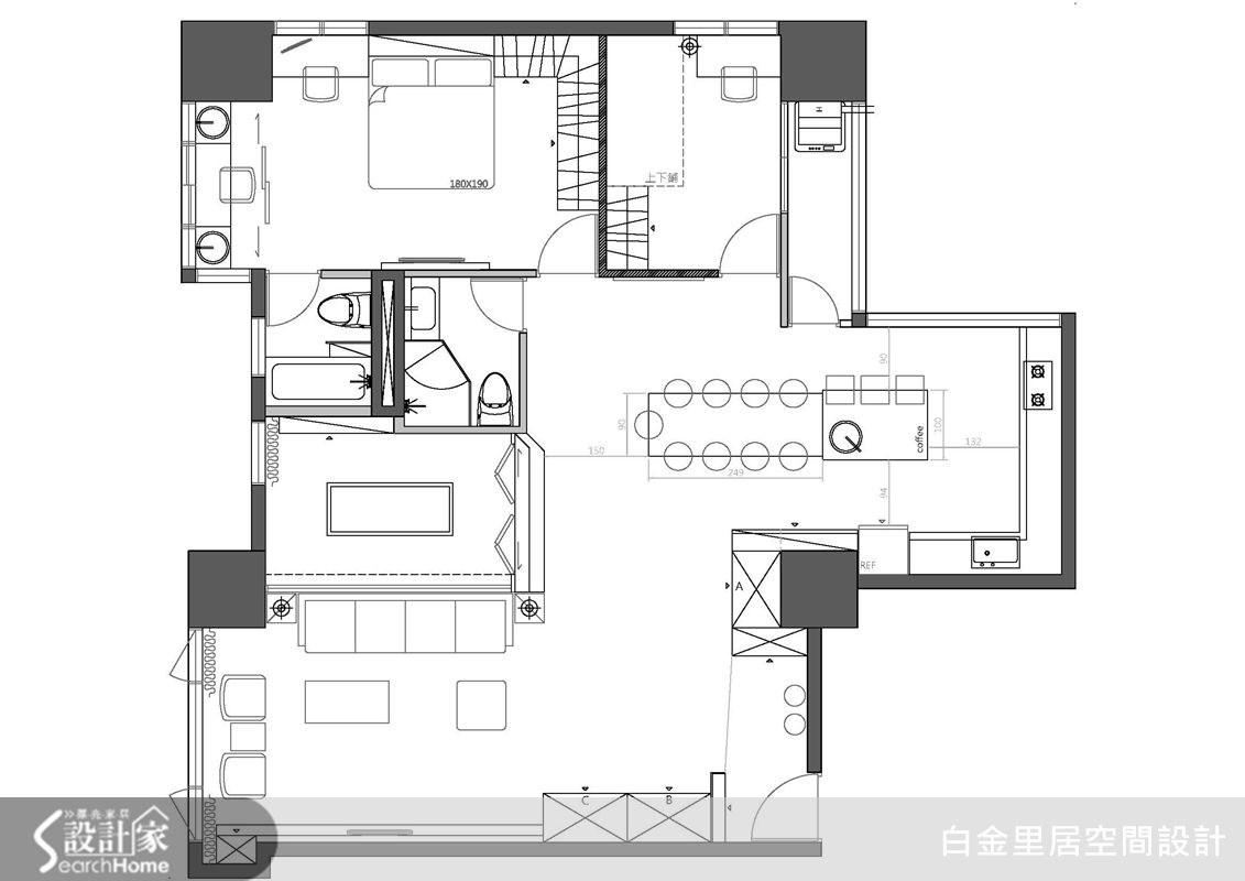 33坪老屋(16~30年)_現代風案例圖片_白金里居空間設計_白金里居_12之13
