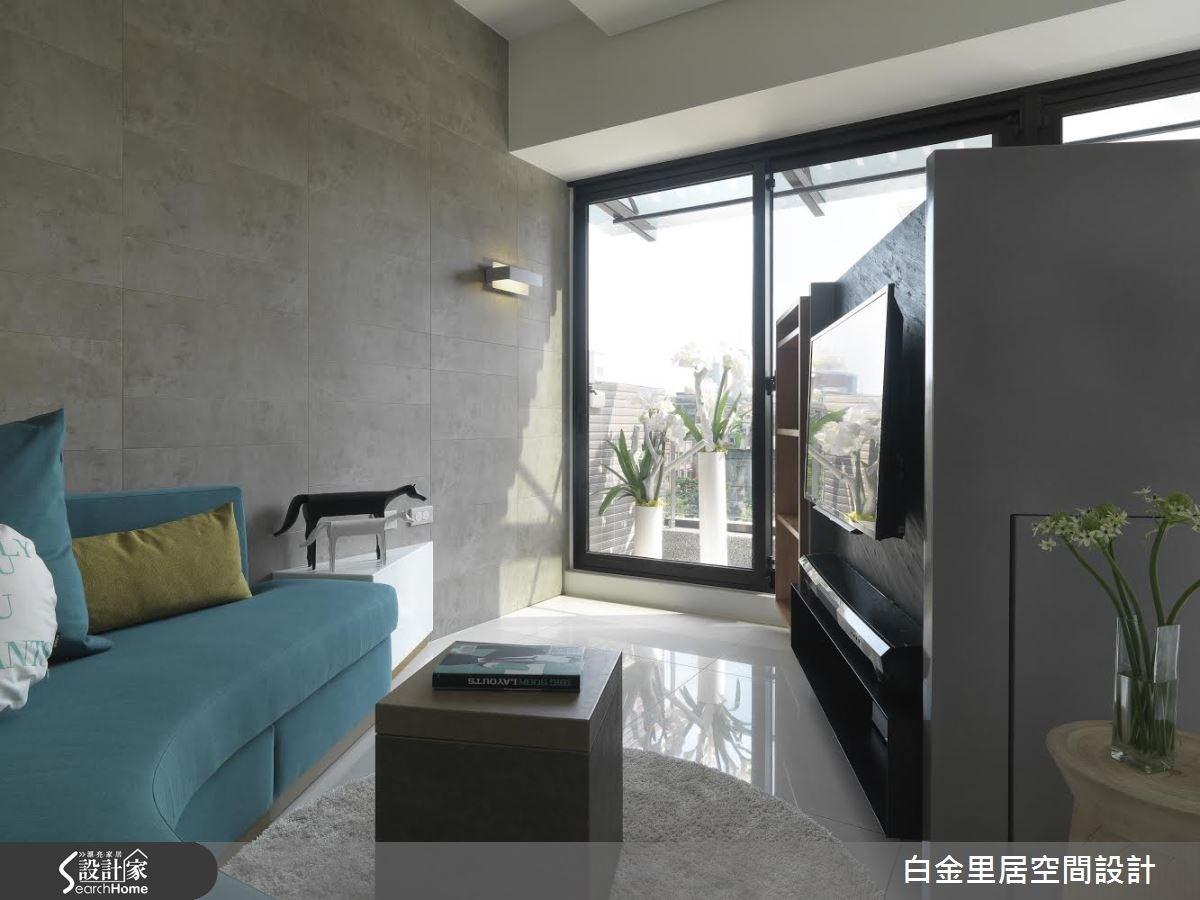14坪預售屋_現代風案例圖片_白金里居空間設計_白金里居_13之1