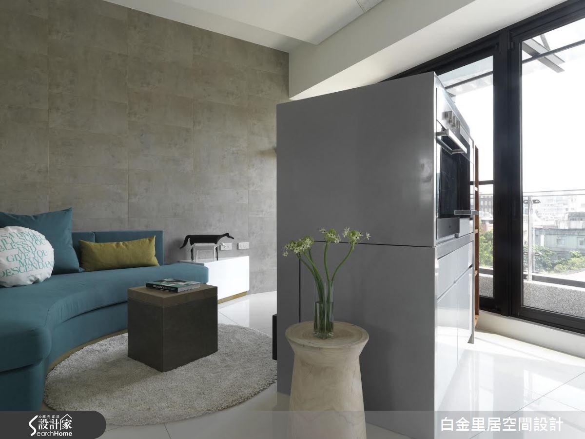 14坪預售屋_現代風案例圖片_白金里居空間設計_白金里居_13之2