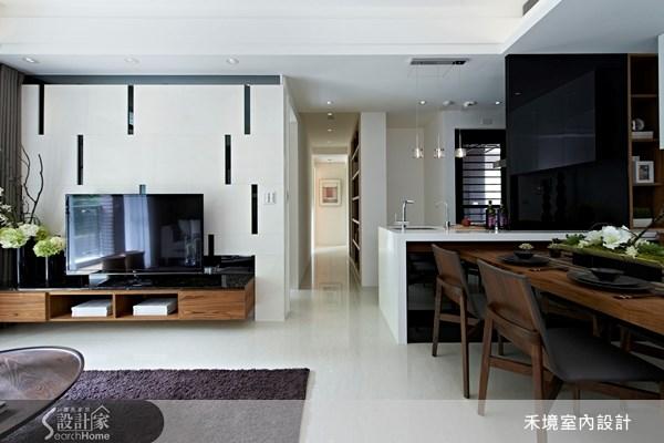 40坪新成屋(5年以下)_現代風案例圖片_禾境室內設計_禾境_02之1