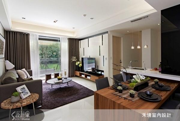 40坪新成屋(5年以下)_現代風案例圖片_禾境室內設計_禾境_02之3