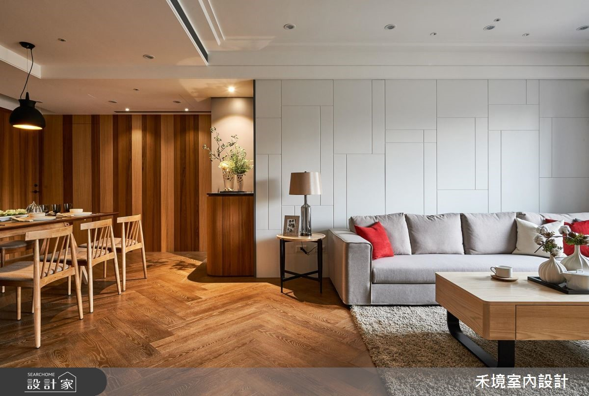 40坪新成屋(5年以下)_人文禪風客廳餐廳案例圖片_禾境室內設計_禾境_11之3