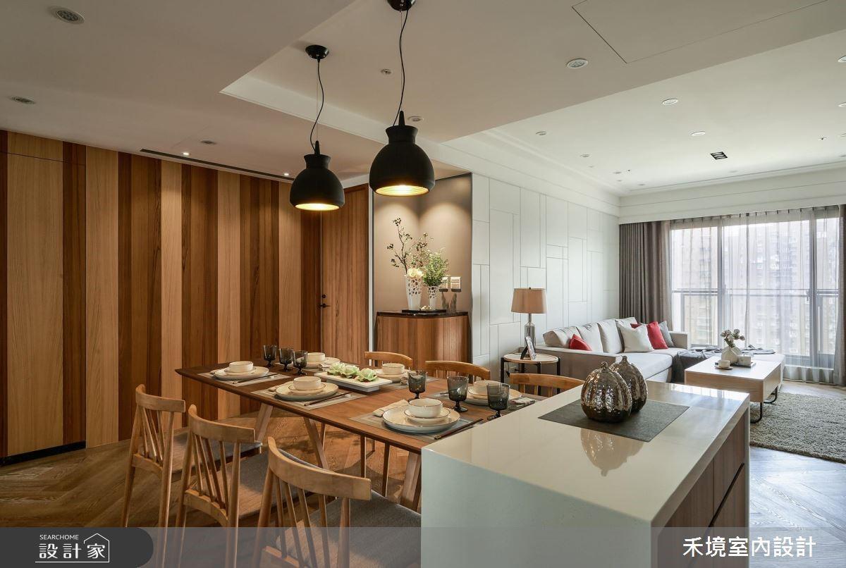 40坪新成屋(5年以下)_人文禪風餐廳案例圖片_禾境室內設計_禾境_11之4
