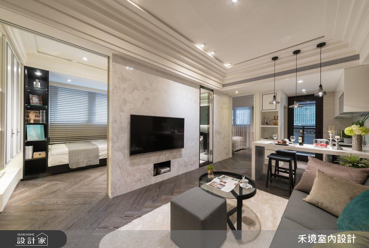 新成屋(5年以下)_新古典客廳案例圖片_禾境室內設計_禾境_16之2
