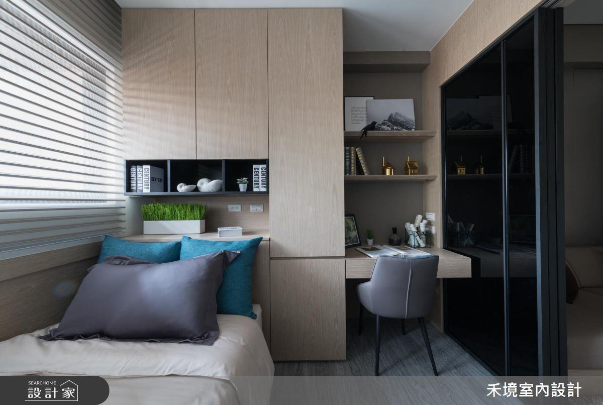 17坪新成屋(5年以下)_簡約風臥室案例圖片_禾境室內設計_禾境_14之5