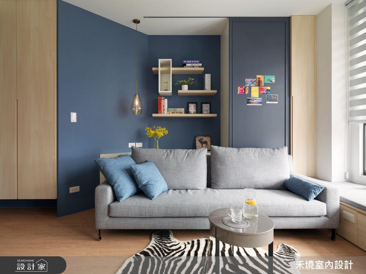 25坪預售屋_混搭風客廳案例圖片_禾境室內設計_禾境_22之4