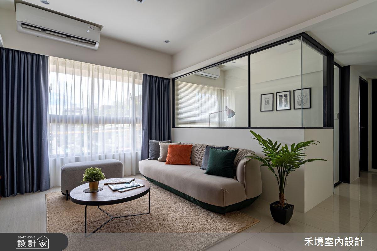 新成屋(5年以下)_現代風客廳案例圖片_禾境室內設計_禾境_24之1