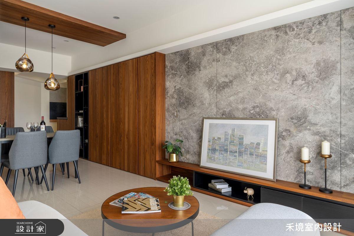 新成屋(5年以下)_現代風客廳案例圖片_禾境室內設計_禾境_24之3