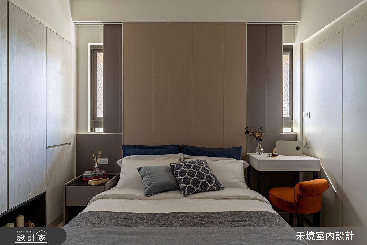 新成屋(5年以下)_現代風臥室案例圖片_禾境室內設計_禾境_24之5