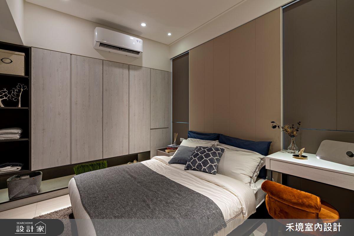新成屋(5年以下)_現代風臥室案例圖片_禾境室內設計_禾境_24之6