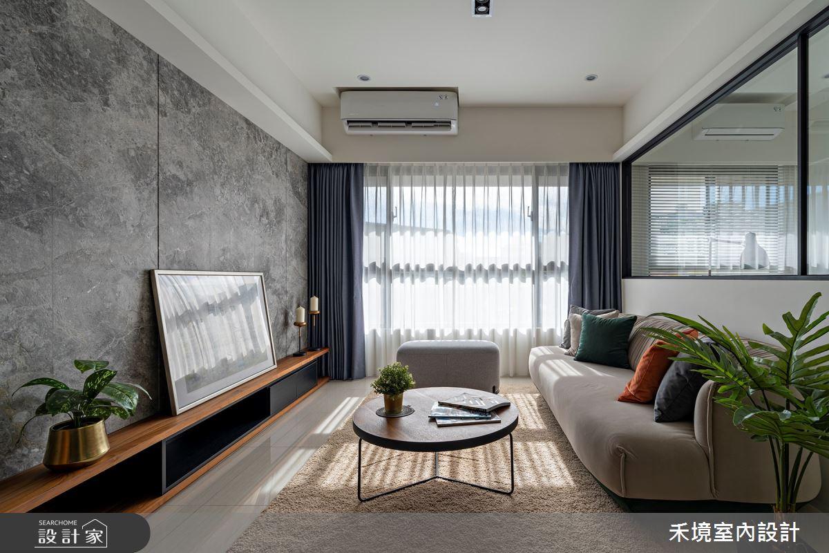 新成屋(5年以下)_現代風客廳案例圖片_禾境室內設計_禾境_24之2