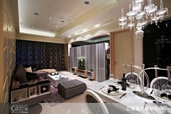 40坪預售屋_新古典案例圖片_立宸室內裝修設計_立宸_02之4