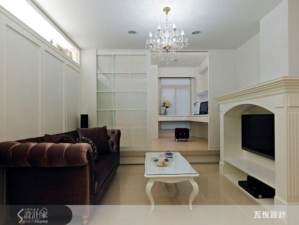 20坪新成屋(5年以下)_現代主典客廳書房案例圖片_瓦悅設計_瓦悅_02之4