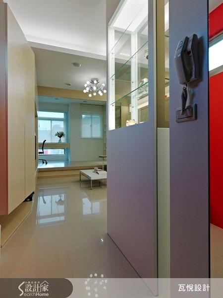 20坪新成屋(5年以下)_休閒風玄關案例圖片_瓦悅設計_瓦悅_03之2