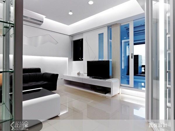 12坪新成屋(5年以下)_現代風客廳案例圖片_瓦悅設計_瓦悅_06之3