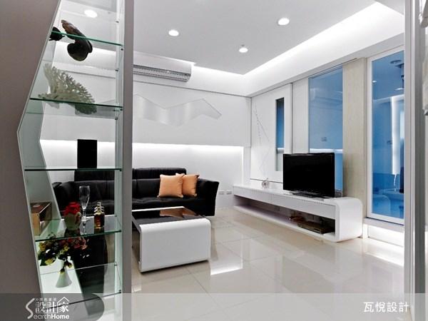 12坪新成屋(5年以下)_現代風客廳案例圖片_瓦悅設計_瓦悅_06之4