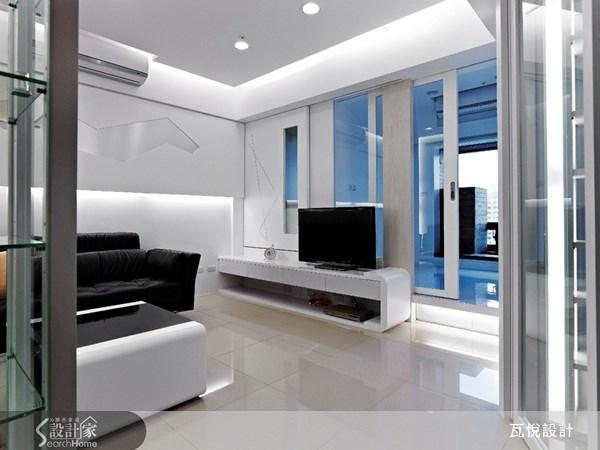 12坪新成屋(5年以下)_現代風客廳案例圖片_瓦悅設計_瓦悅_06之2