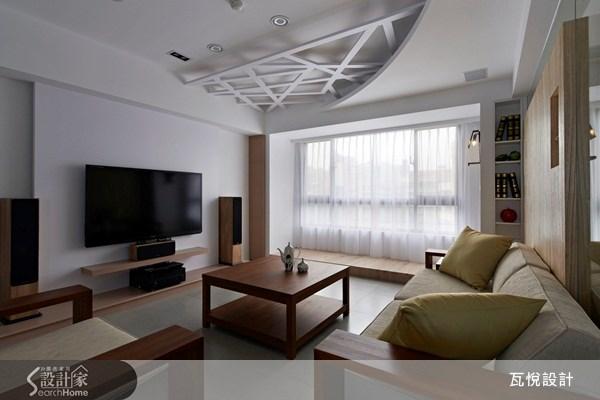 32坪中古屋(5~15年)_休閒風客廳案例圖片_瓦悅設計_瓦悅_07之1