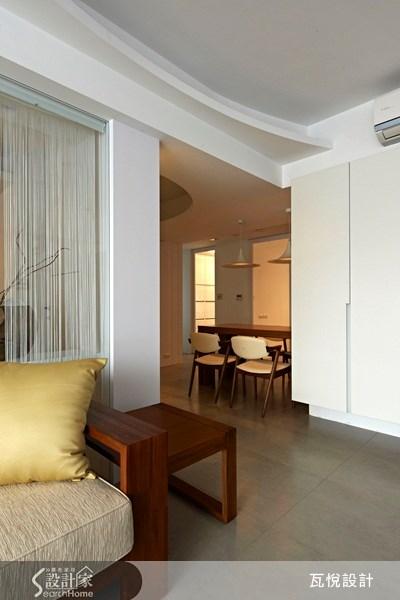 32坪中古屋(5~15年)_休閒風客廳餐廳案例圖片_瓦悅設計_瓦悅_07之14