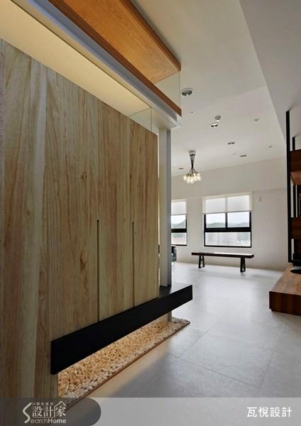 25坪新成屋(5年以下)_休閒風玄關走廊案例圖片_瓦悅設計_瓦悅_09之3