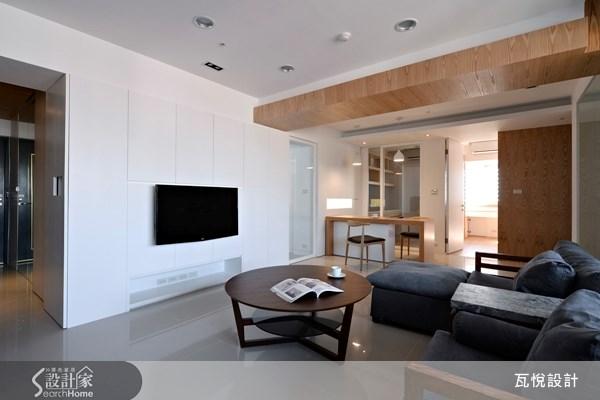 30坪老屋(16~30年)_現代風玄關客廳案例圖片_瓦悅設計_瓦悅_12之2
