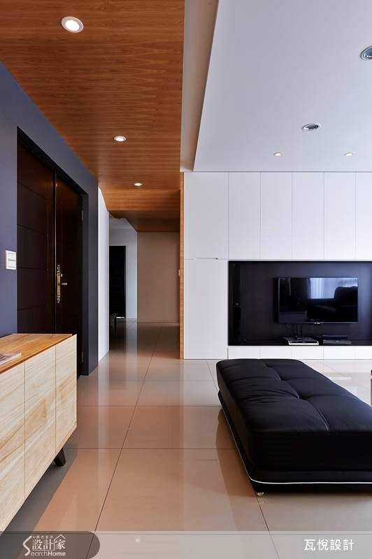60坪新成屋(5年以下)_混搭風客廳走廊案例圖片_瓦悅設計_瓦悅_14之1