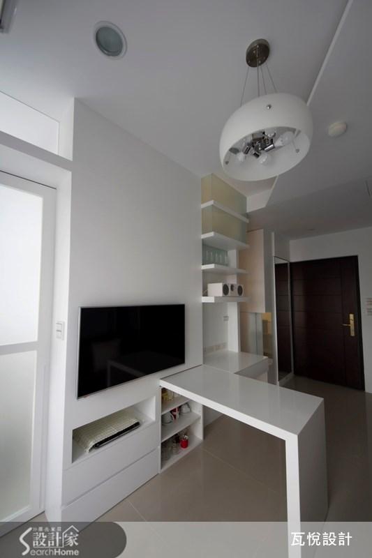 8坪新成屋(5年以下)_現代風客廳案例圖片_瓦悅設計_瓦悅_16之2