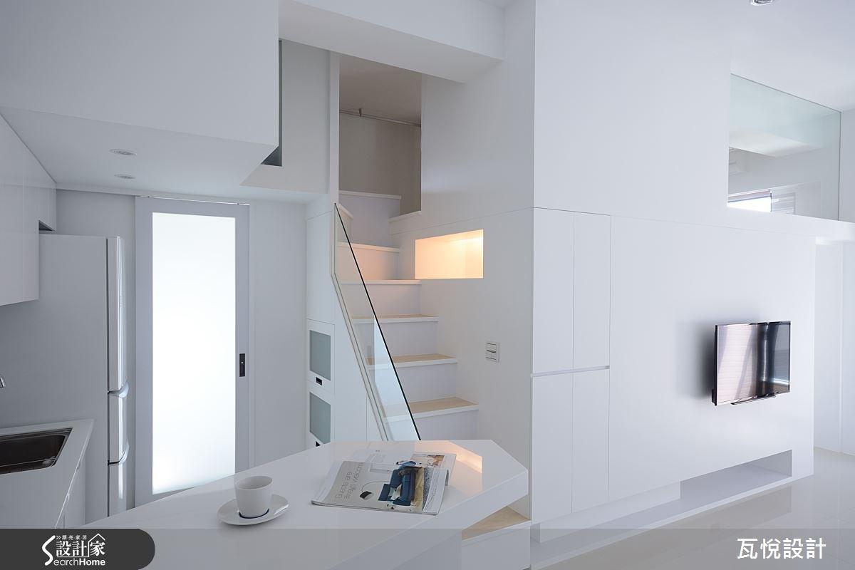 17坪新成屋(5年以下)_現代風吧檯案例圖片_瓦悅設計_瓦悅_19之3