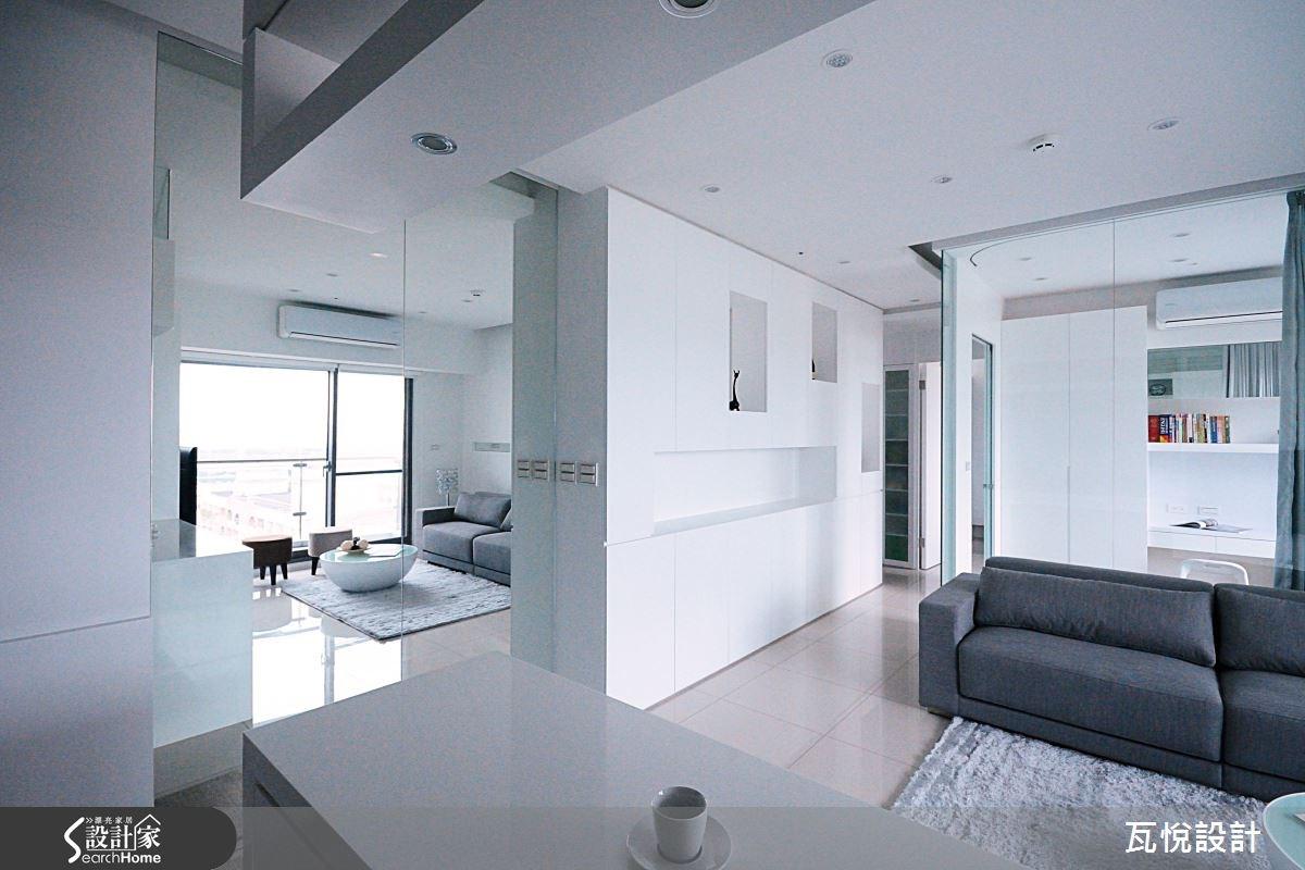 新成屋(5年以下)_現代風客廳案例圖片_瓦悅設計_瓦悅_21之2