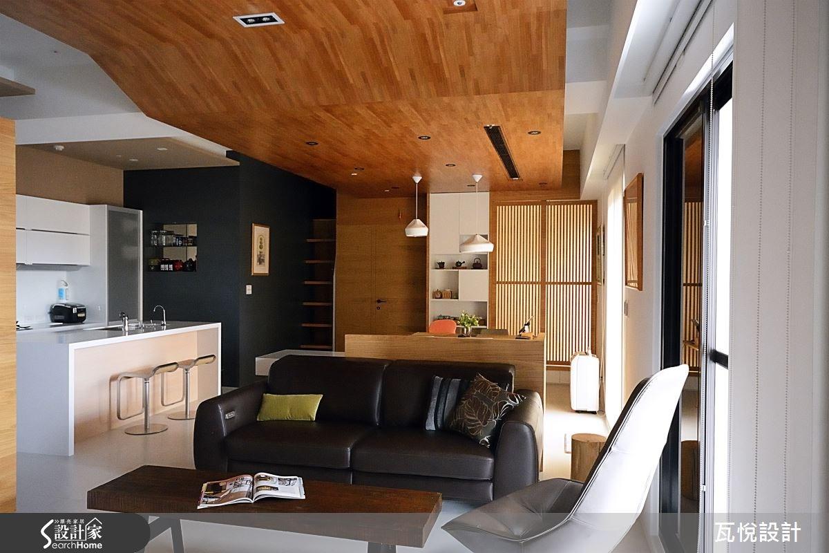 27坪新成屋(5年以下)_現代風客廳案例圖片_瓦悅設計_瓦悅_22之1