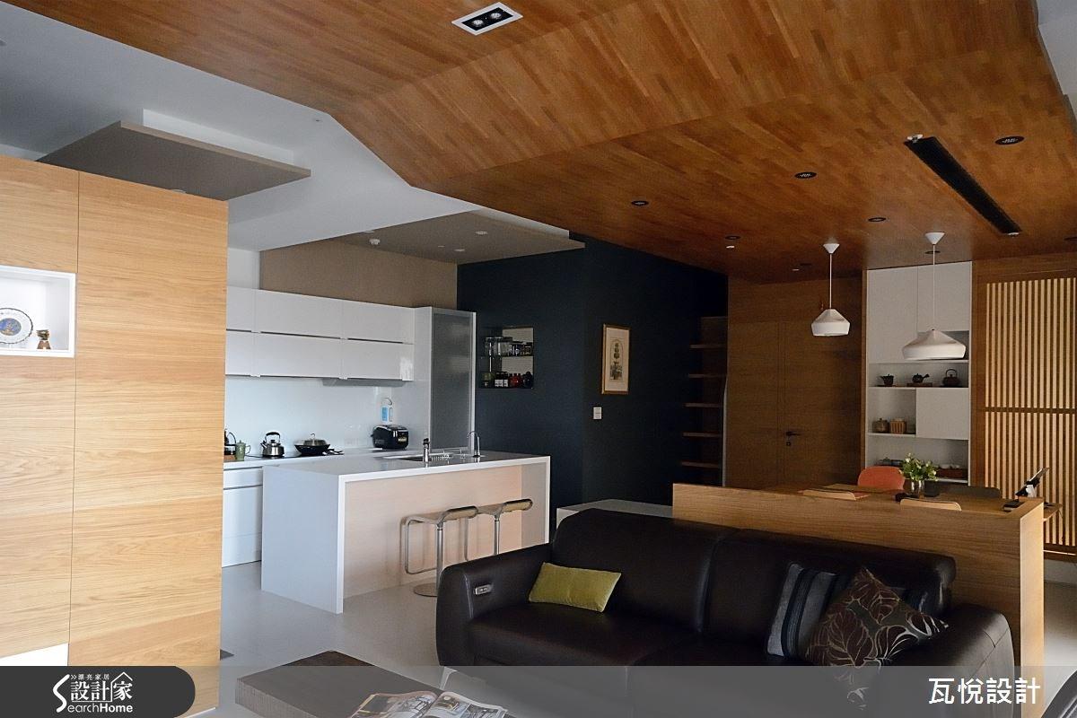 27坪新成屋(5年以下)_現代風客廳案例圖片_瓦悅設計_瓦悅_22之2