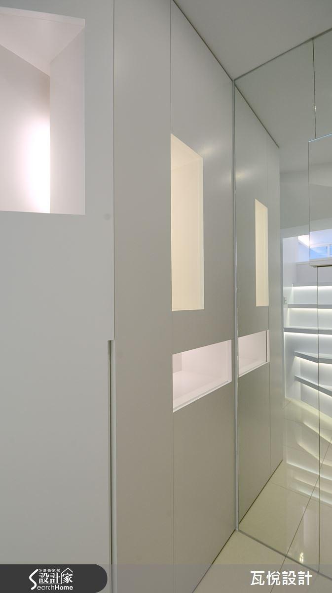 8坪老屋(16~30年)_現代風玄關案例圖片_瓦悅設計_瓦悅_25之1