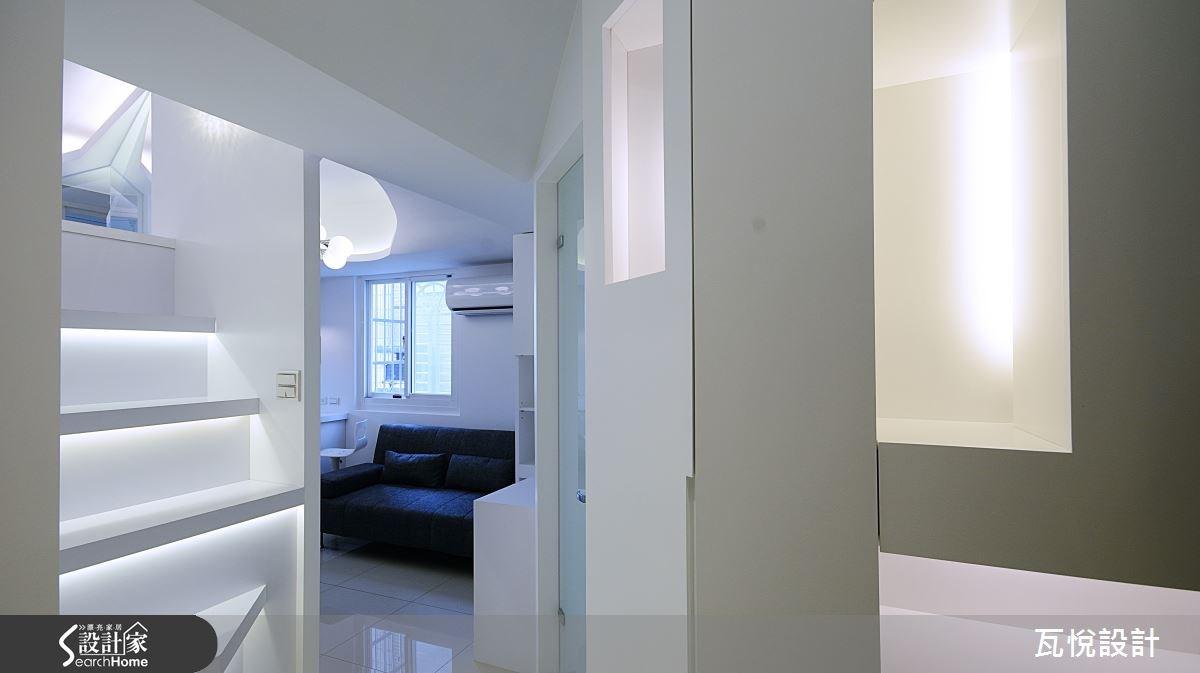8坪老屋(16~30年)_現代風玄關案例圖片_瓦悅設計_瓦悅_25之2