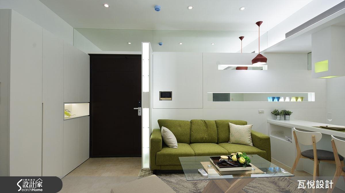 14坪_現代風玄關客廳案例圖片_瓦悅設計_瓦悅_27之1