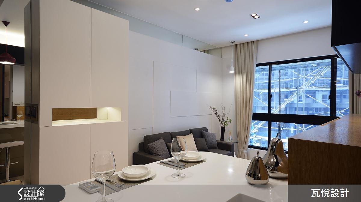 16坪_現代風玄關客廳吧檯案例圖片_瓦悅設計_瓦悅_28之3