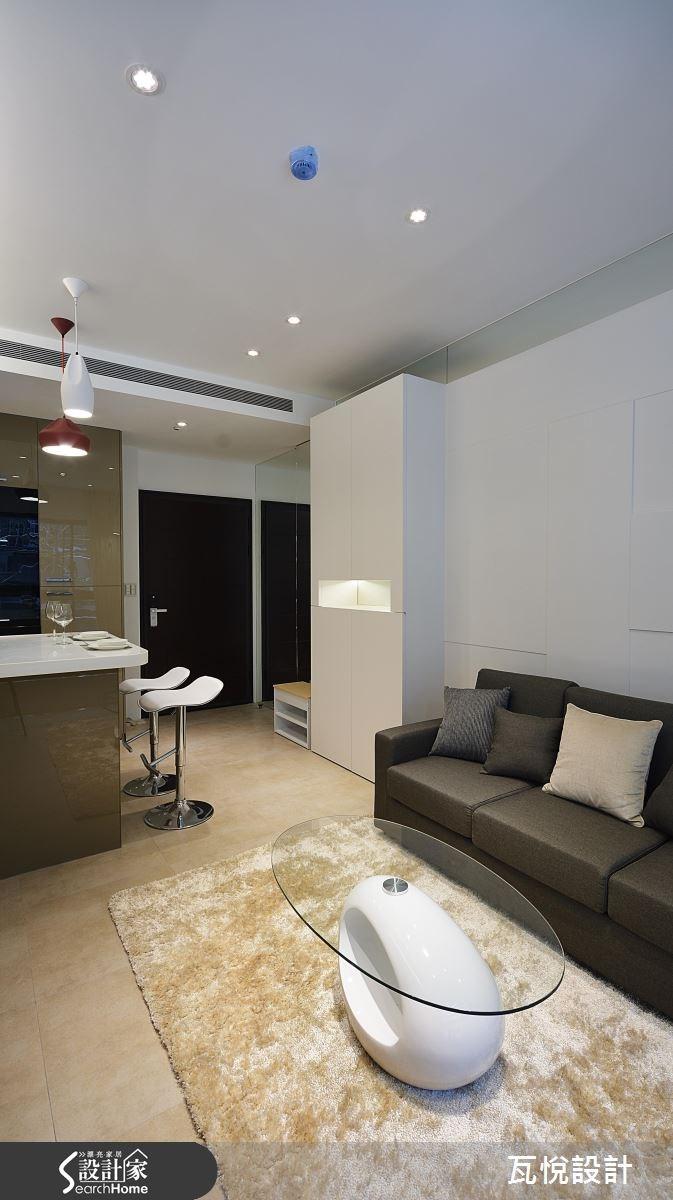 16坪_現代風玄關客廳案例圖片_瓦悅設計_瓦悅_28之6
