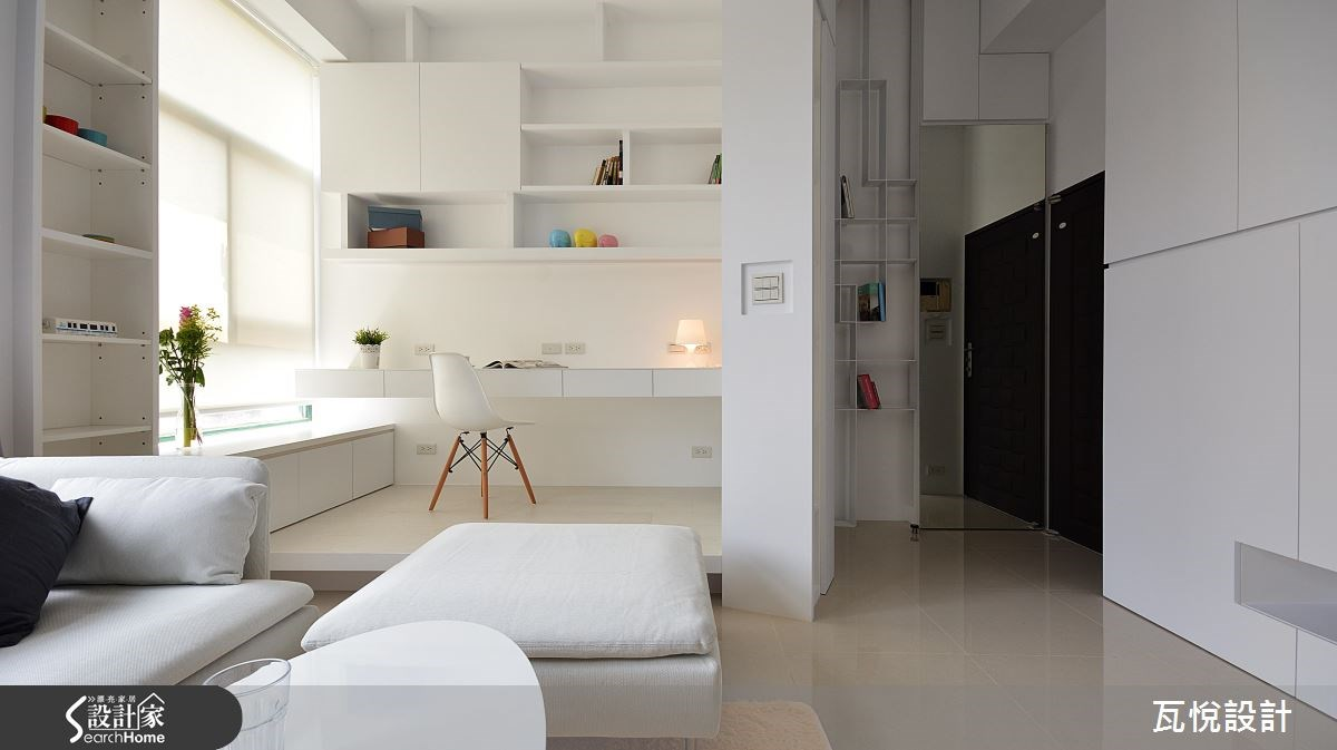 新成屋(5年以下)_現代風玄關客廳臥榻臥室案例圖片_瓦悅設計_瓦悅_29之4